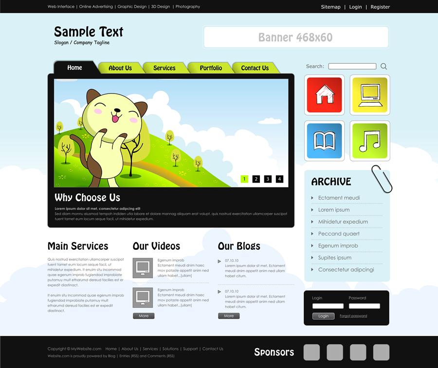 website_template